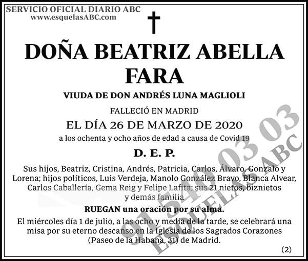 Beatriz Abella Fara