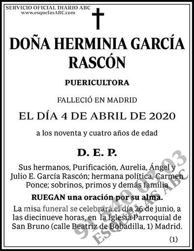 Herminia García Rascón