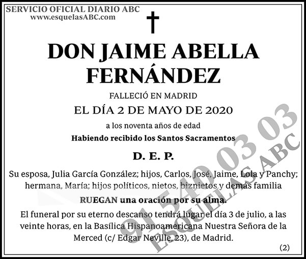 Jaime Abella Fernández