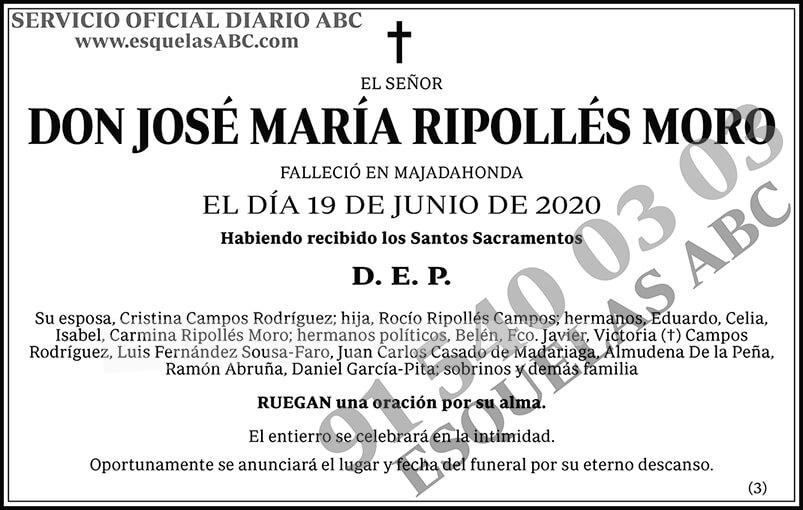 José María Ropollés Moro