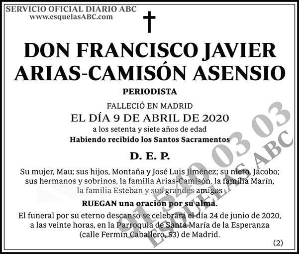Francisco Javier Arias-Camisón Asensio