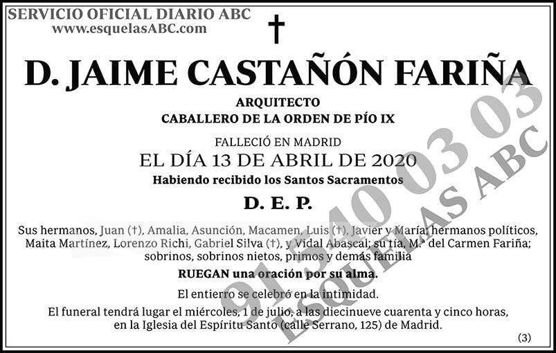 Jaime Castañón Fariña