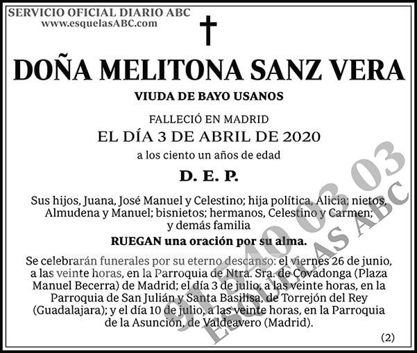 Melitona Sanz Vera