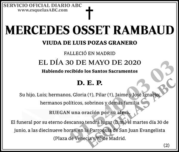 Mercedes Osset Rambaud