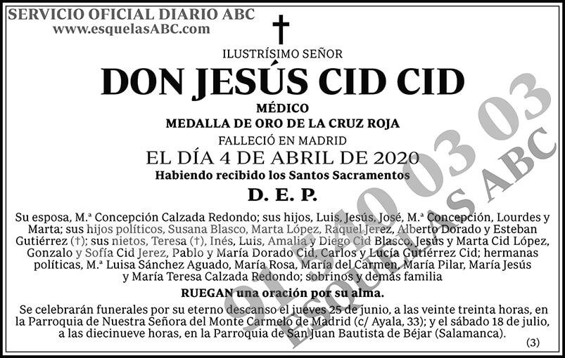 Jesús Cid Cid