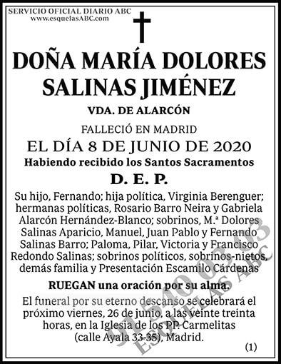 María Dolores Salinas Jiménez