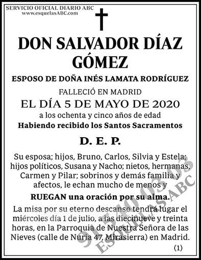 Salvador Díaz Gómez