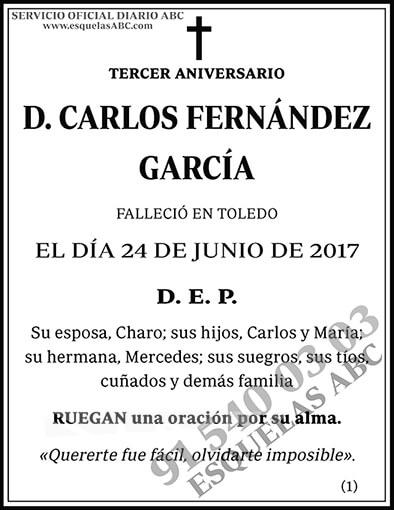 Carlos Fernández García