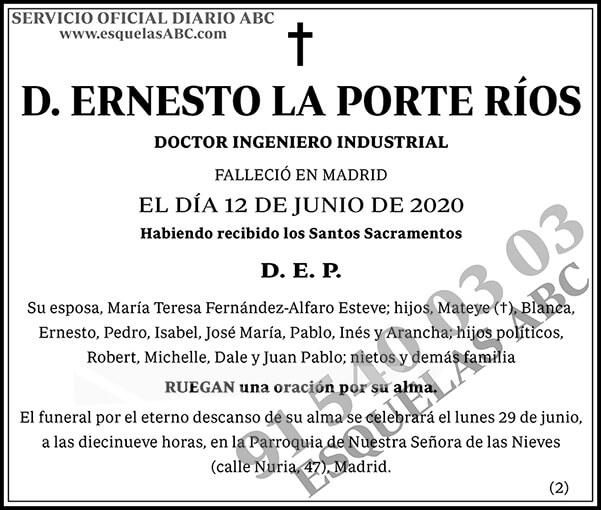 Ernesto La Porte Ríos