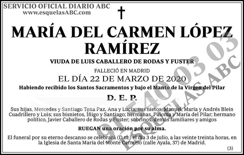 María del Carmen López Ramírez