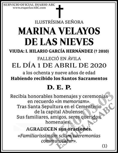 Marina Velayos de las Nieves