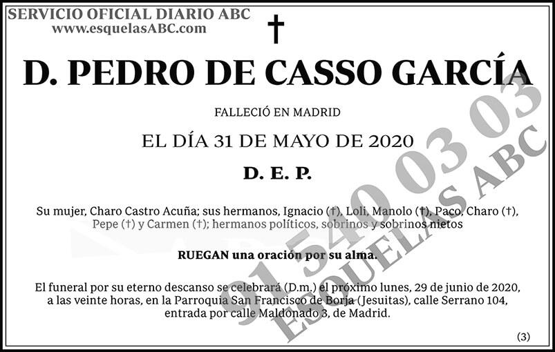 Pedro de Casso García