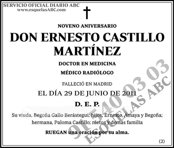 Ernesto Castillo Martínez