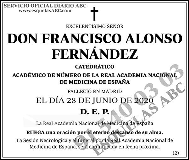 Francisco Alonso Fernández