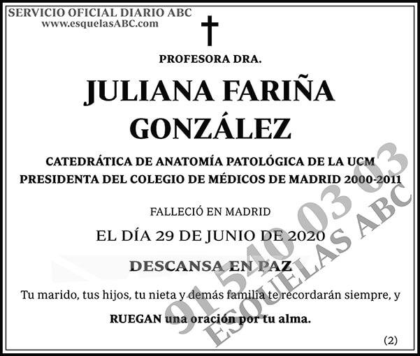 Juliana Fariña González