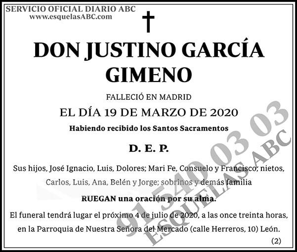 Justino García Gimeno