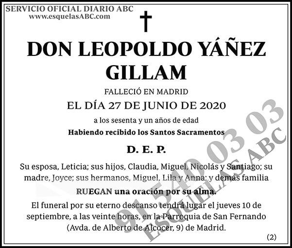 Leopoldo Yáñez Gillam