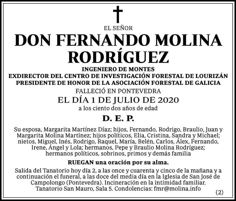 Fernando Molina Rodríguez
