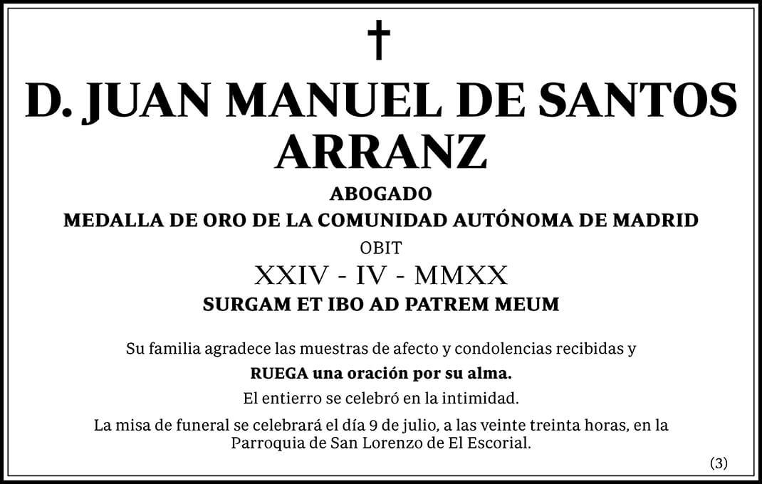 Juan Manuel de Santos Arranz