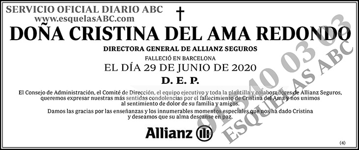 Cristina del Ama Redondo