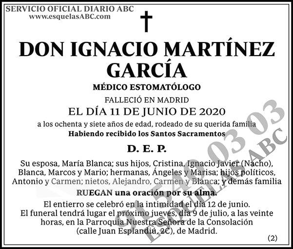 Ignacio Martínez García