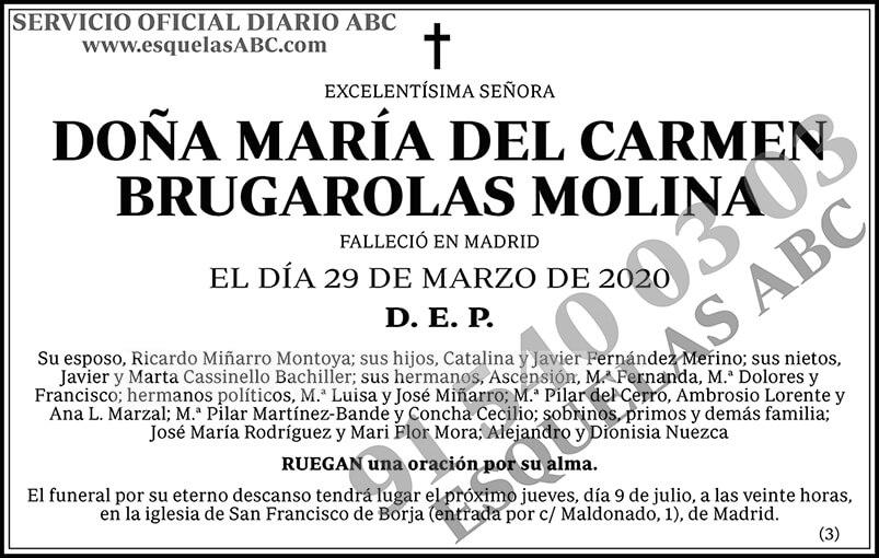 María del Carmen Brugarolas Molina