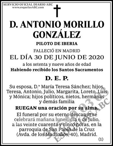 Antonio Morillo González