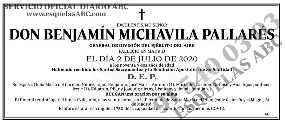 Benjamin Michavila Pallarés