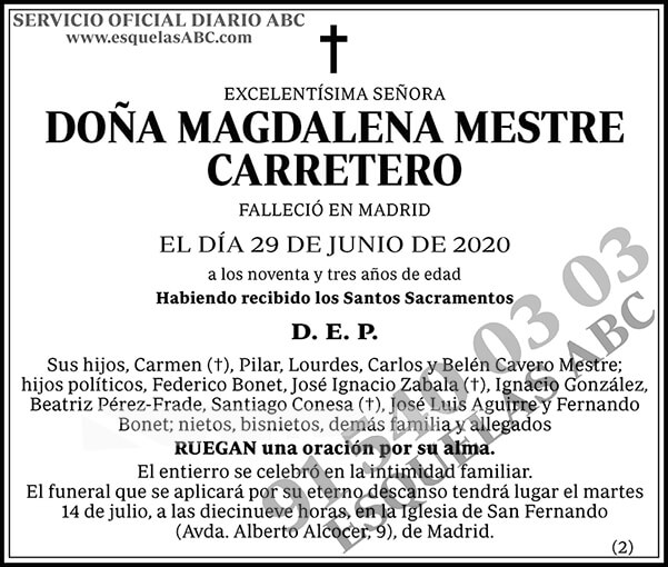 Magdalena Mestre Carretero