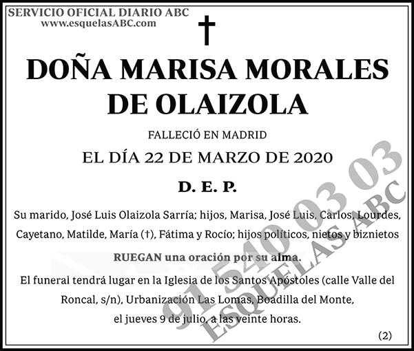 Marisa Morales de Olaizola