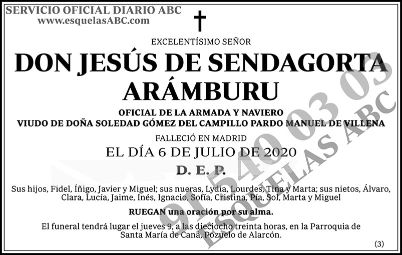 Jesús de Sendagorta Arámburu
