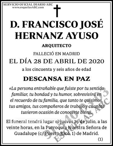 Francisco José Hernanz Ayuso