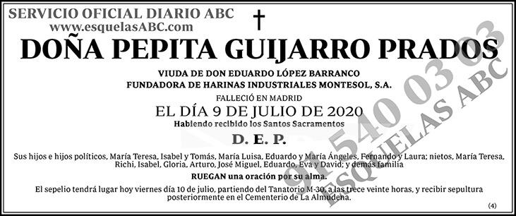 Pepita Guijarro Prados