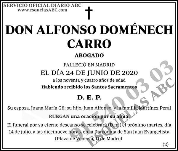 Alfonso Doménech Carro