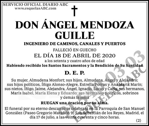Ángel Mendoza Guille