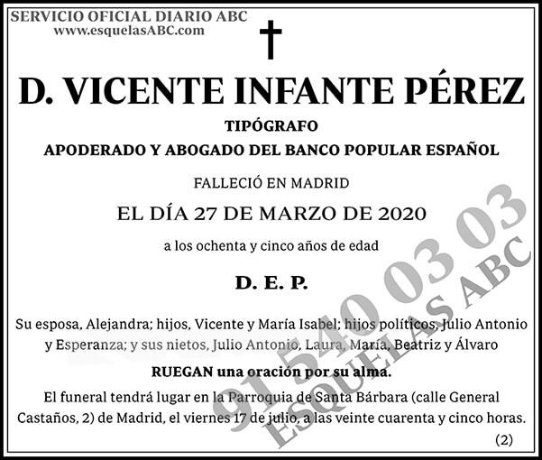 Vicente Infante Pérez