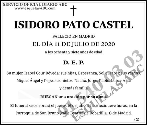 Isidoro Pato Castel