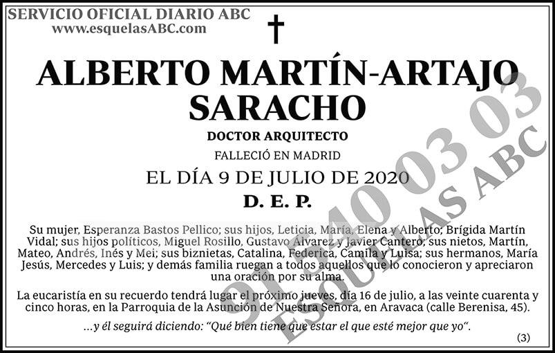 Alberto Martín-Artajo Saracho
