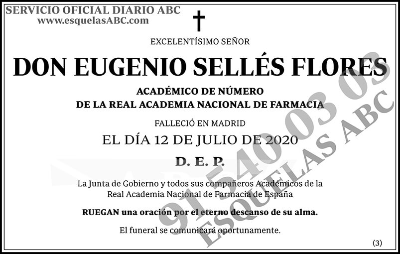 Eugenio Sellés Flores