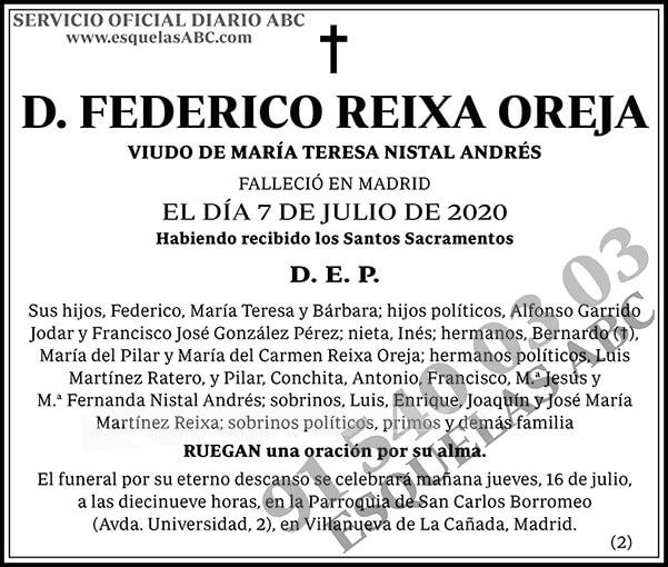 Federico Reixa Oreja