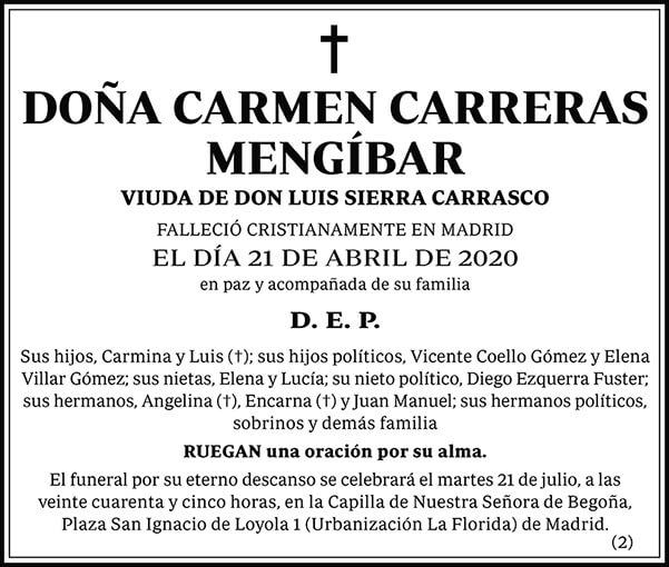 Carmen Carreras Mengíbar