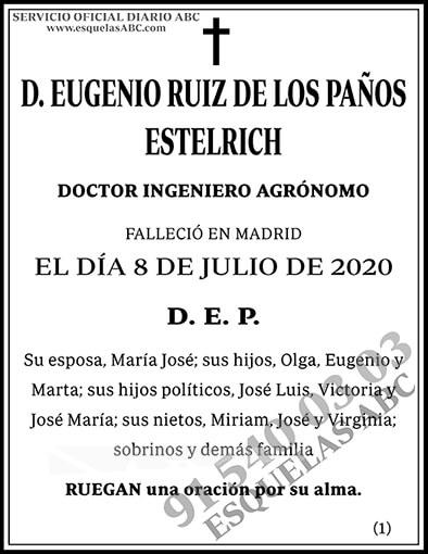 Eugenio Ruiz de los Paños Estelrich