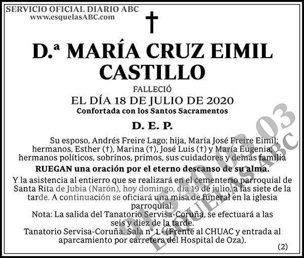 María Cruz Eimil Castillo