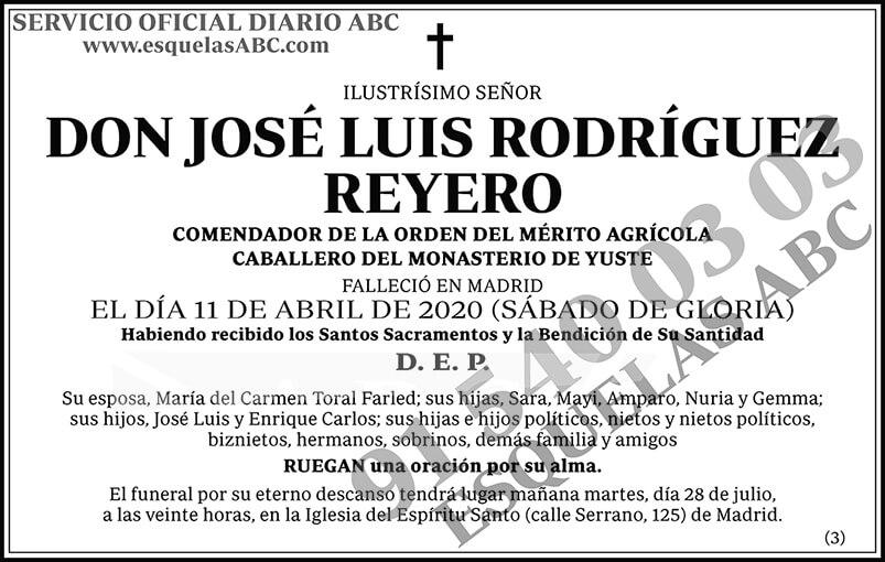 José Luis Rodríguez Reyero