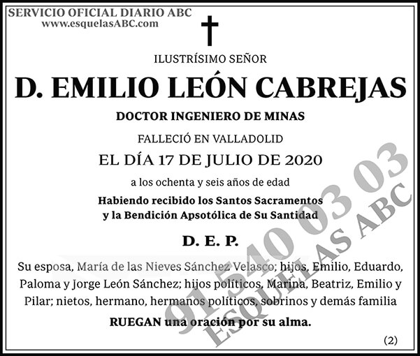 Emilio León Cabrejas