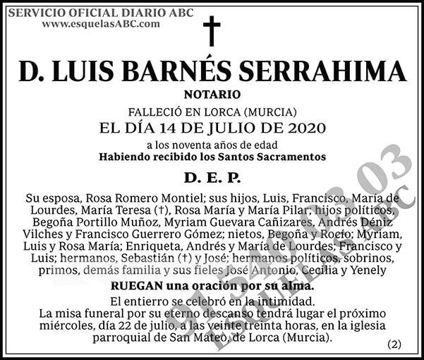 Luis Barnés Serrahima