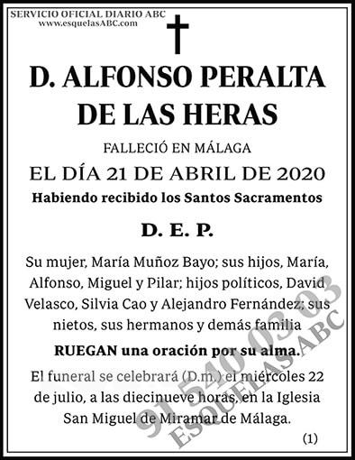 Alfonso Peralta de las Heras