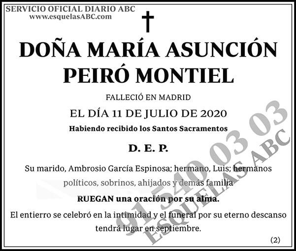 María Asunción Peiró Montiel
