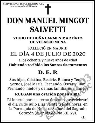Manuel Mingot Salvetti
