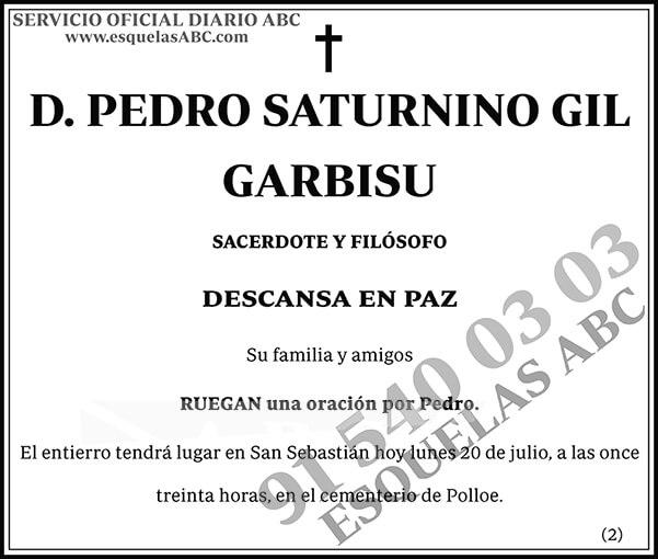 Pedro Saturnino Gil Garbisu
